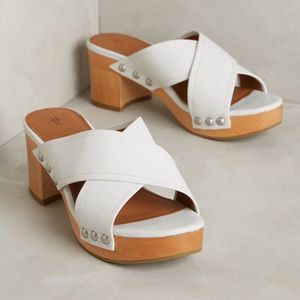 Frye block heel sandals